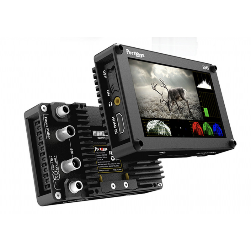 portkeys bm5 ii hdmi sdi 5 2 touch screen monitor 2200 nits with 3d luts bm5 ii touchscreen hdmi sdi 2200 nits usd